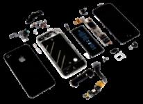 Náhradní díly pro iPhone SE, 5s a 5