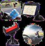 Držáky mobilů a tabletů do auta