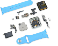 Náhradní díly pro Apple Watch Series 3/2/1 (42mm)