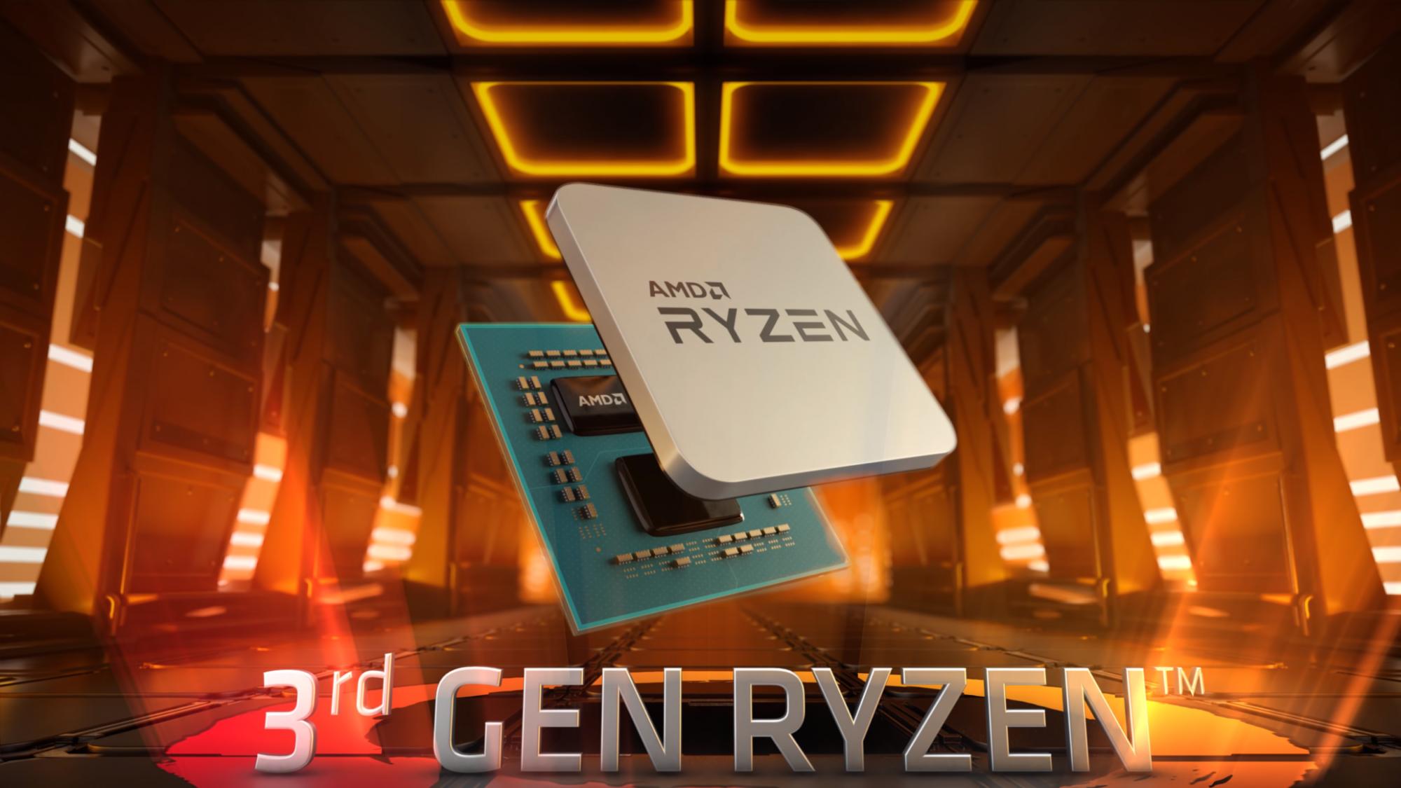 Procesor AMD Ryzen 3600 herní PC