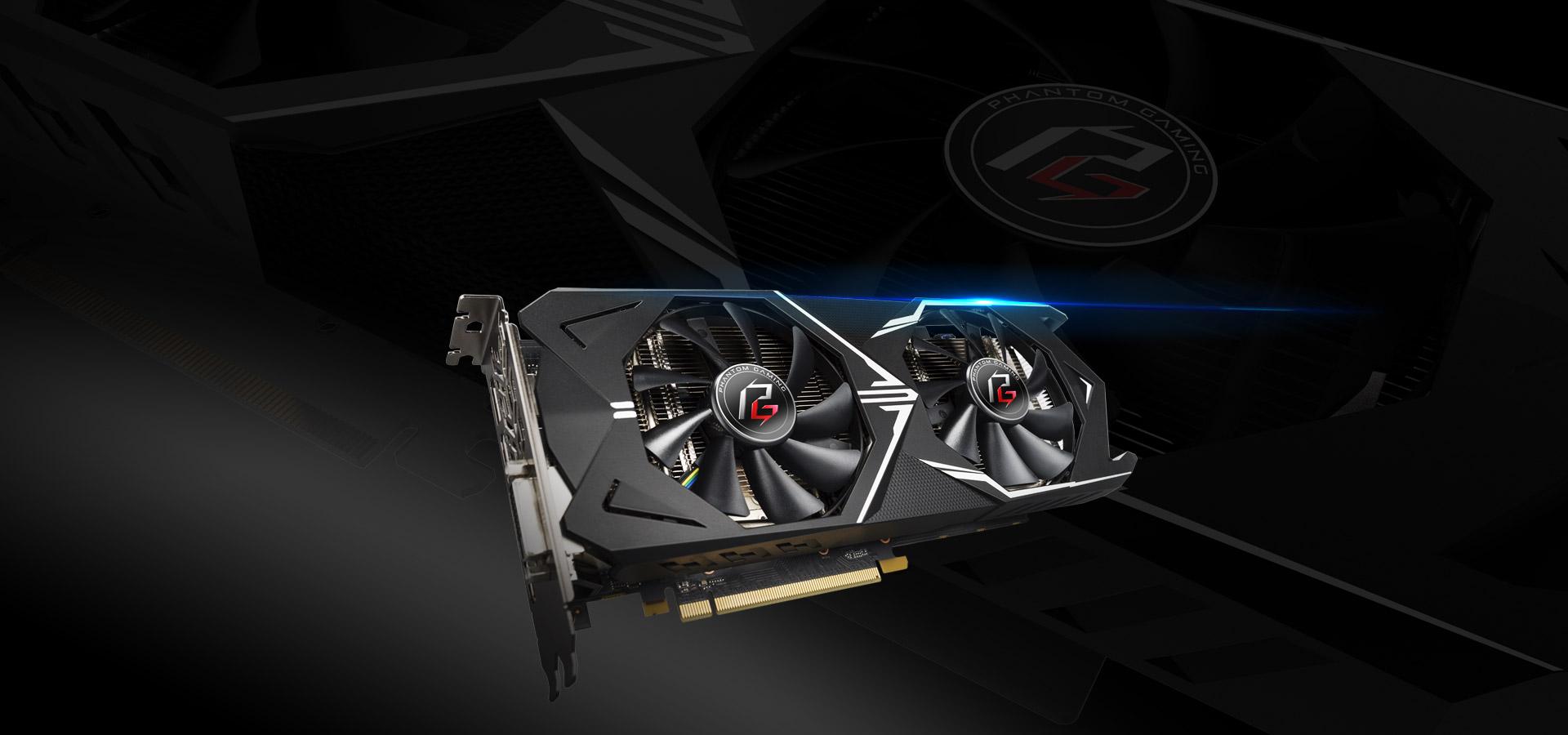 ASROCK AMD RADEON PHANTOM GXR RX570 4G OC