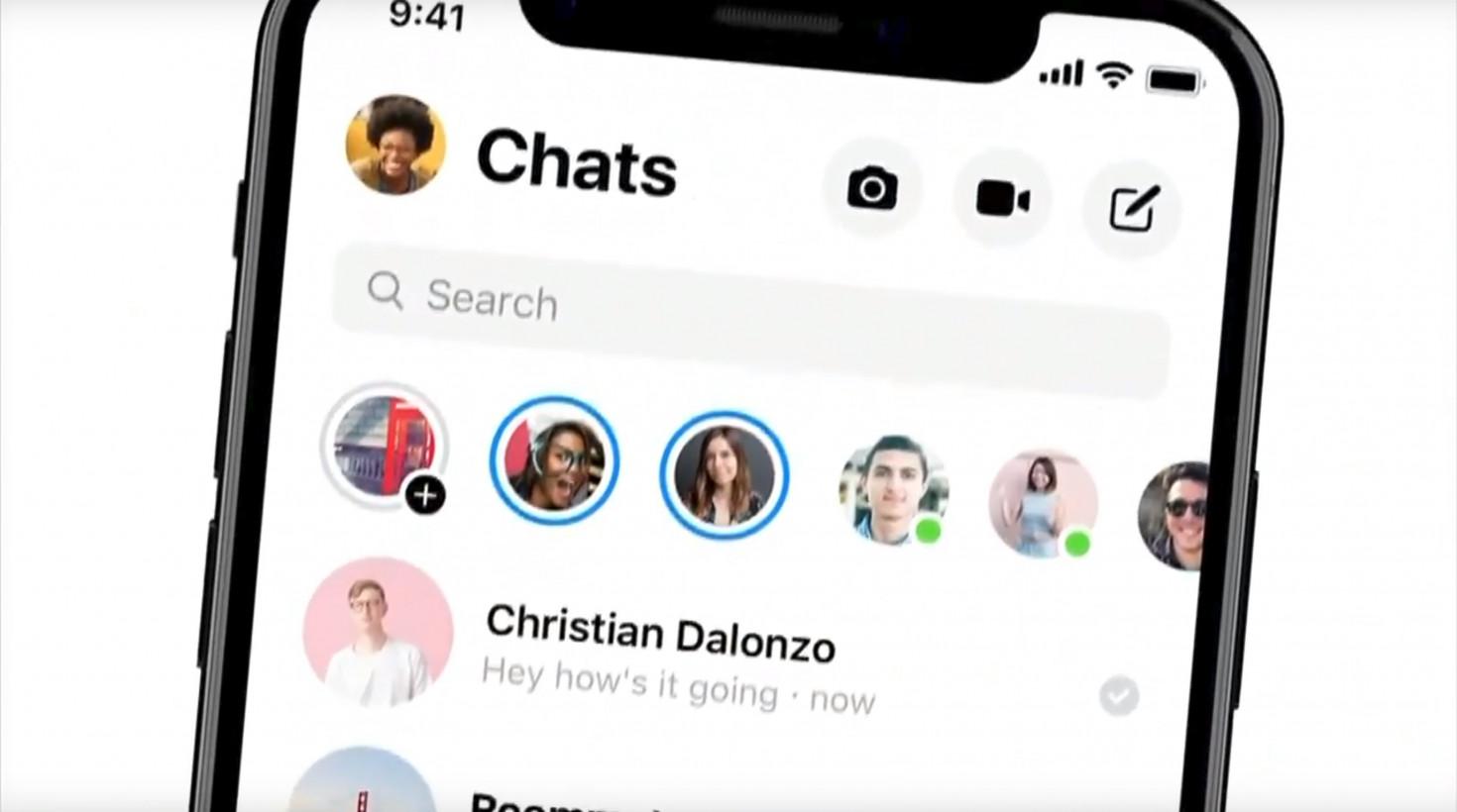 Nová verze Facebook Messenger