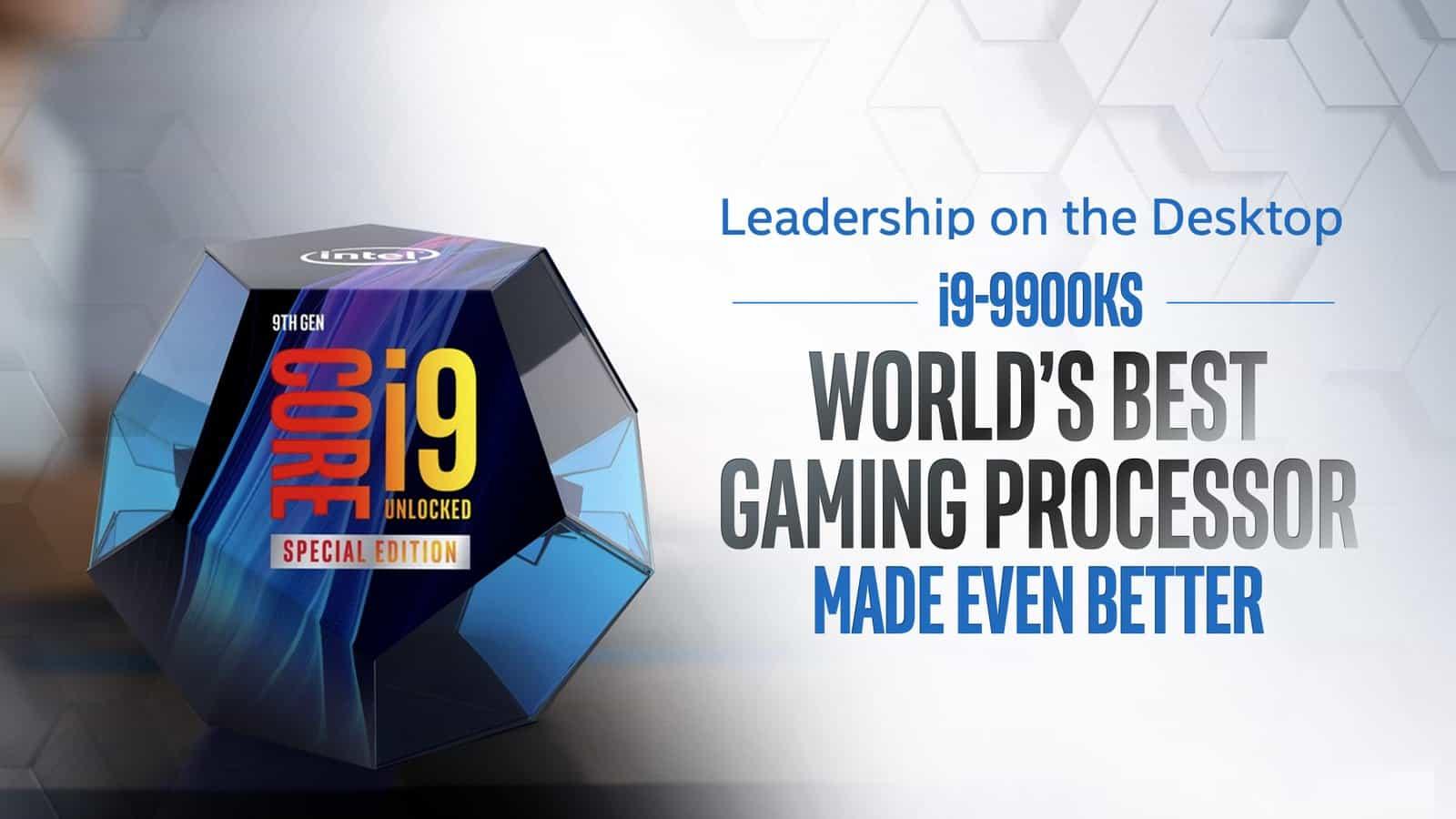 Procesor Intel Core i9-9900KS Special Edition
