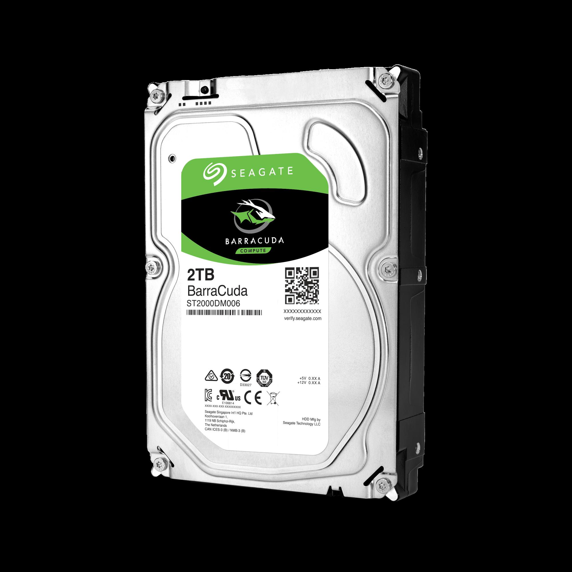 Seagate BarraCuda 2TB pevný disk