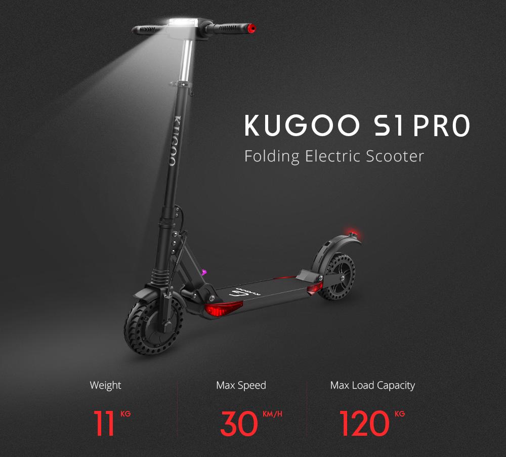 Elektrická koloběžka Kugoo S1 Pro CZ