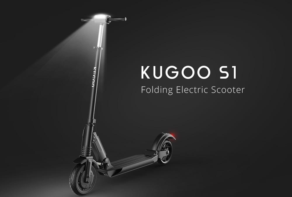 Elektrická koloběžka Kugoo S1 CZ