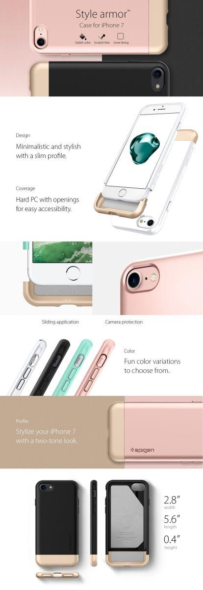 Spigen Style Armor pro Apple iPhone 8 a iPhone 7