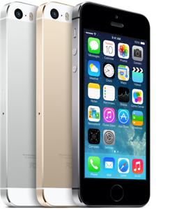 Mobilní telefon Apple iPhone SE, 5s, 5