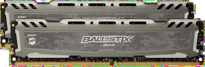 Crucial Ballistix Sport LT Grey DDR4 16GB