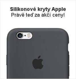 Silikonové kryty / obaly / pouzdra Apple v akci!