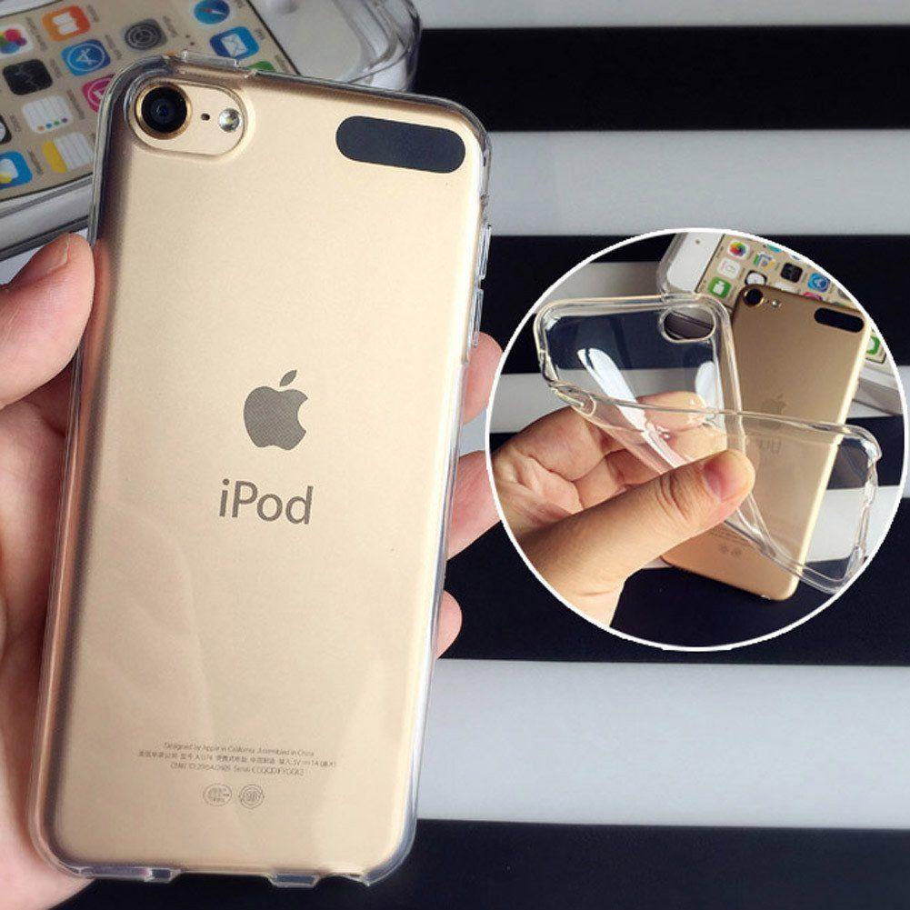 Tenký silikonový kryt na Apple iPod Touch 5. generace, čirý