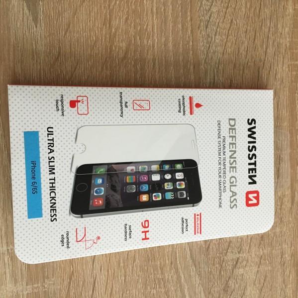 Tvrzené sklo přední + zadní Swissten Defense Glass Apple iPhone 6s / 6
