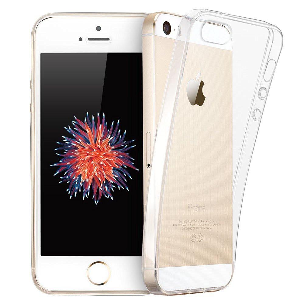 Barevný čirý kryt Ultra Slim Hybrid na iPhone SE / 5s / 5
