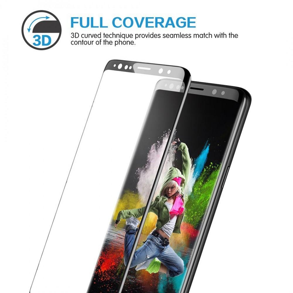 3D Ochranné sklo Magic Glass Full Glue na displej Galaxy S9 Plus