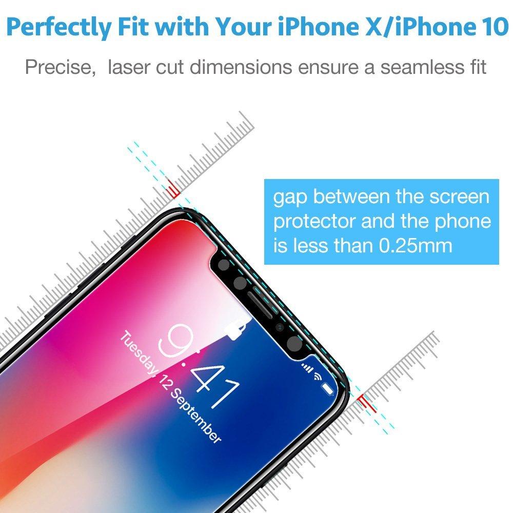 Tvrzené sklo PRO+ 9H na displej Apple iPhone X