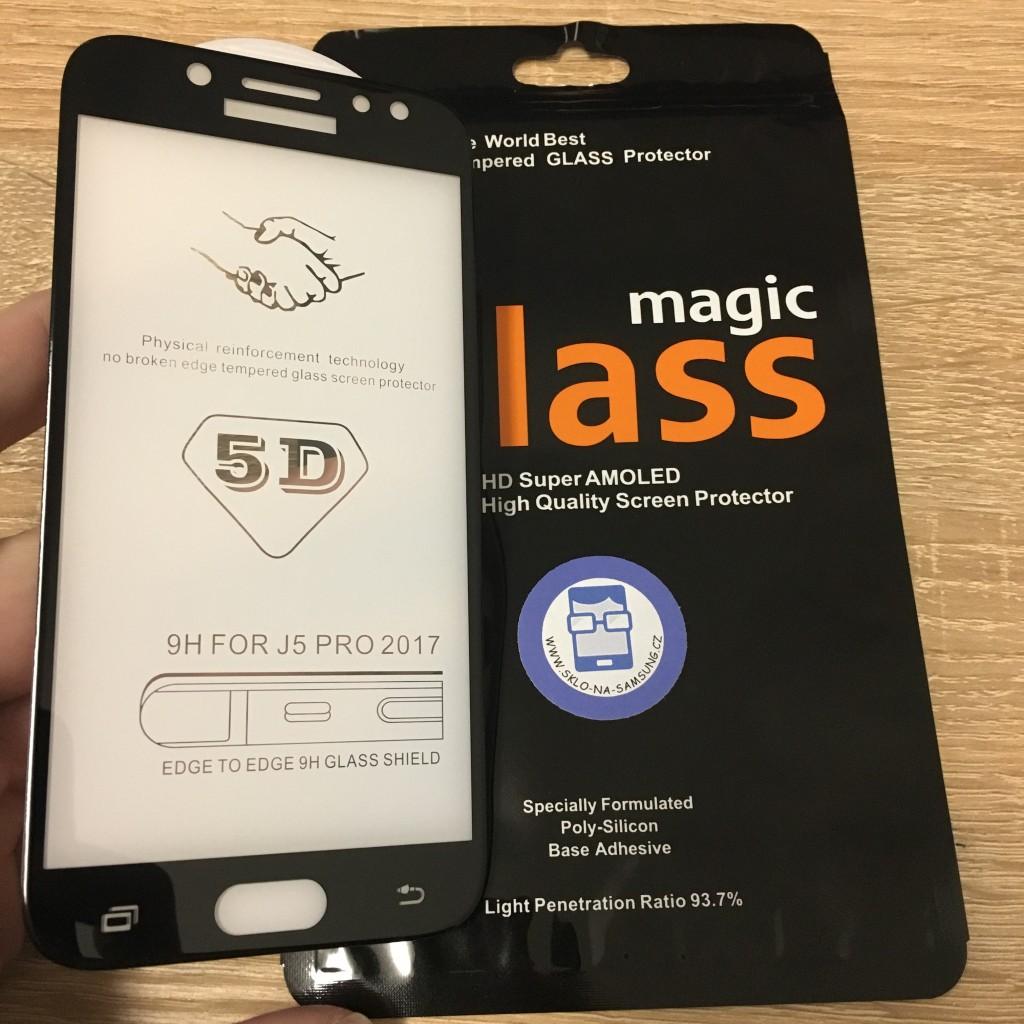 Prémiové ochranné sklo 5D Magic Glass Full Glue na Galaxy J5 2017