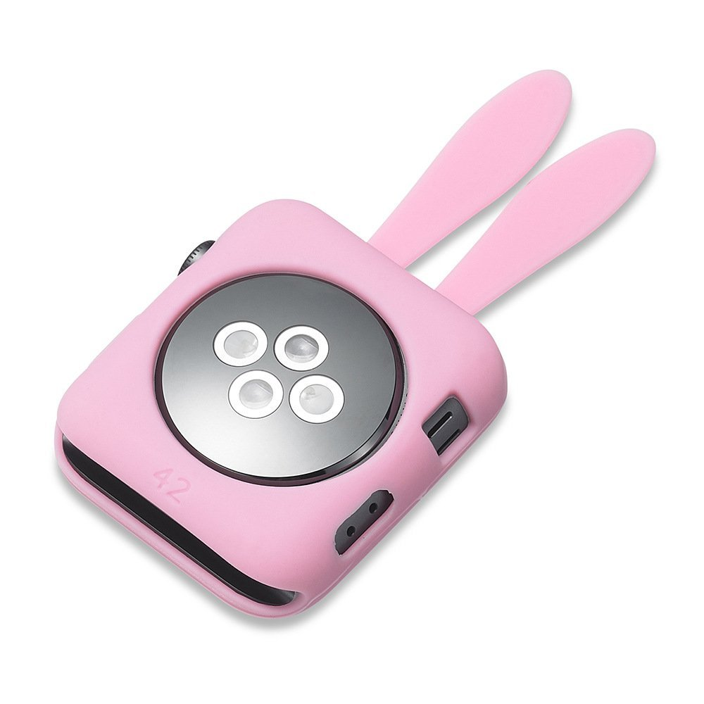 Silikonový obal Cartoon Rabbit Apple Watch 38mm Series 1, 2, 3