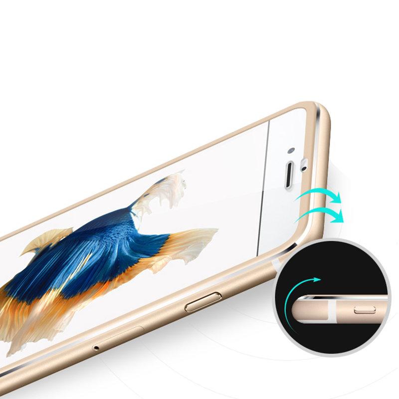 3D Tvrzené sklo Ring na celý displej pro iPhone 8 Plus / 7 Plus