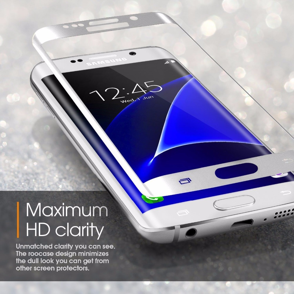 3D Tvrzené sklo 9H na celý displej pro Galaxy Note Edge