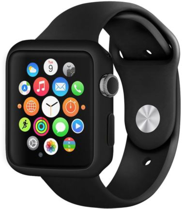 Černý kryt Shadow - Apple Watch 42mm Series 1, 2, 3