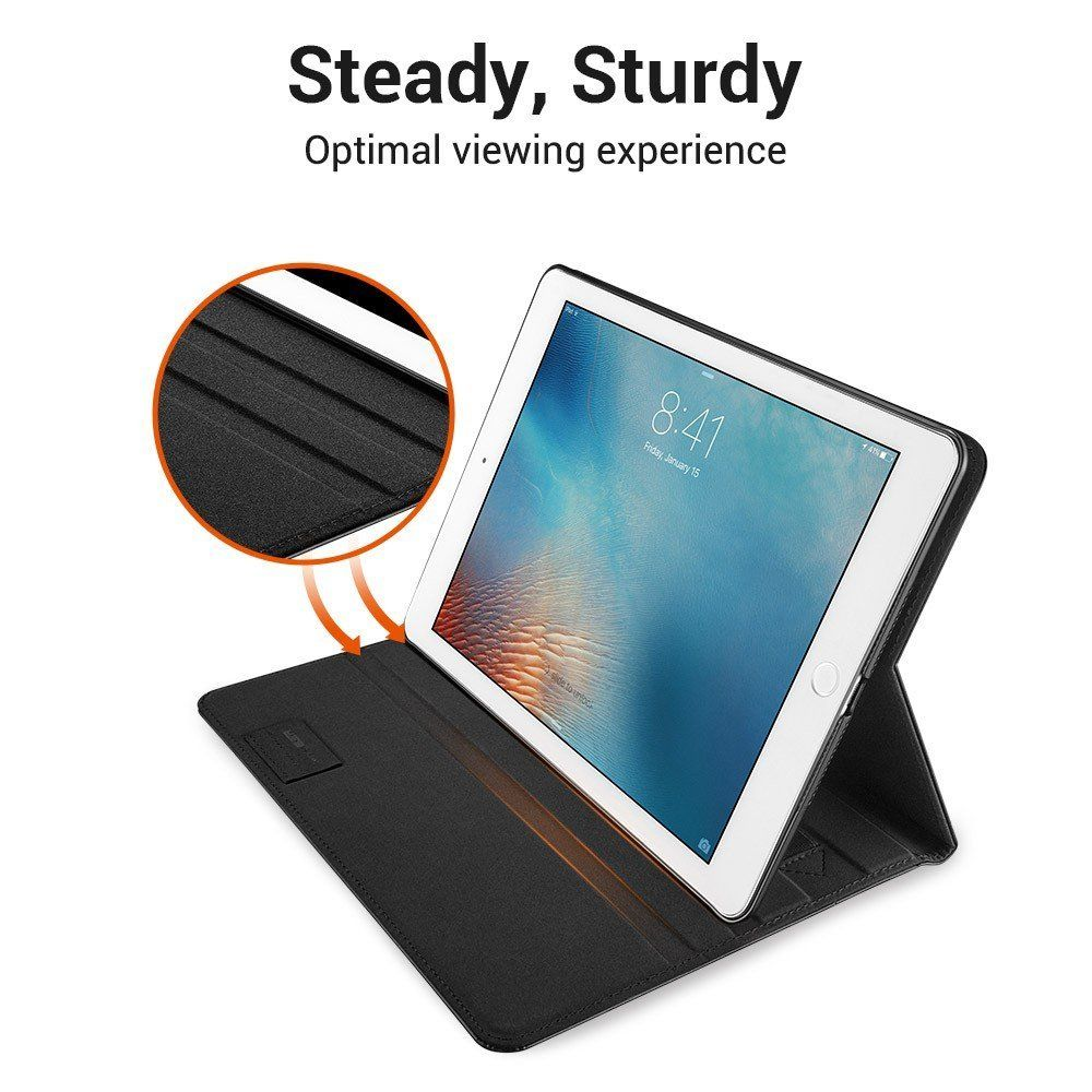 Kožené pouzdro ESR INTELLIGENT na Apple iPad 9.7