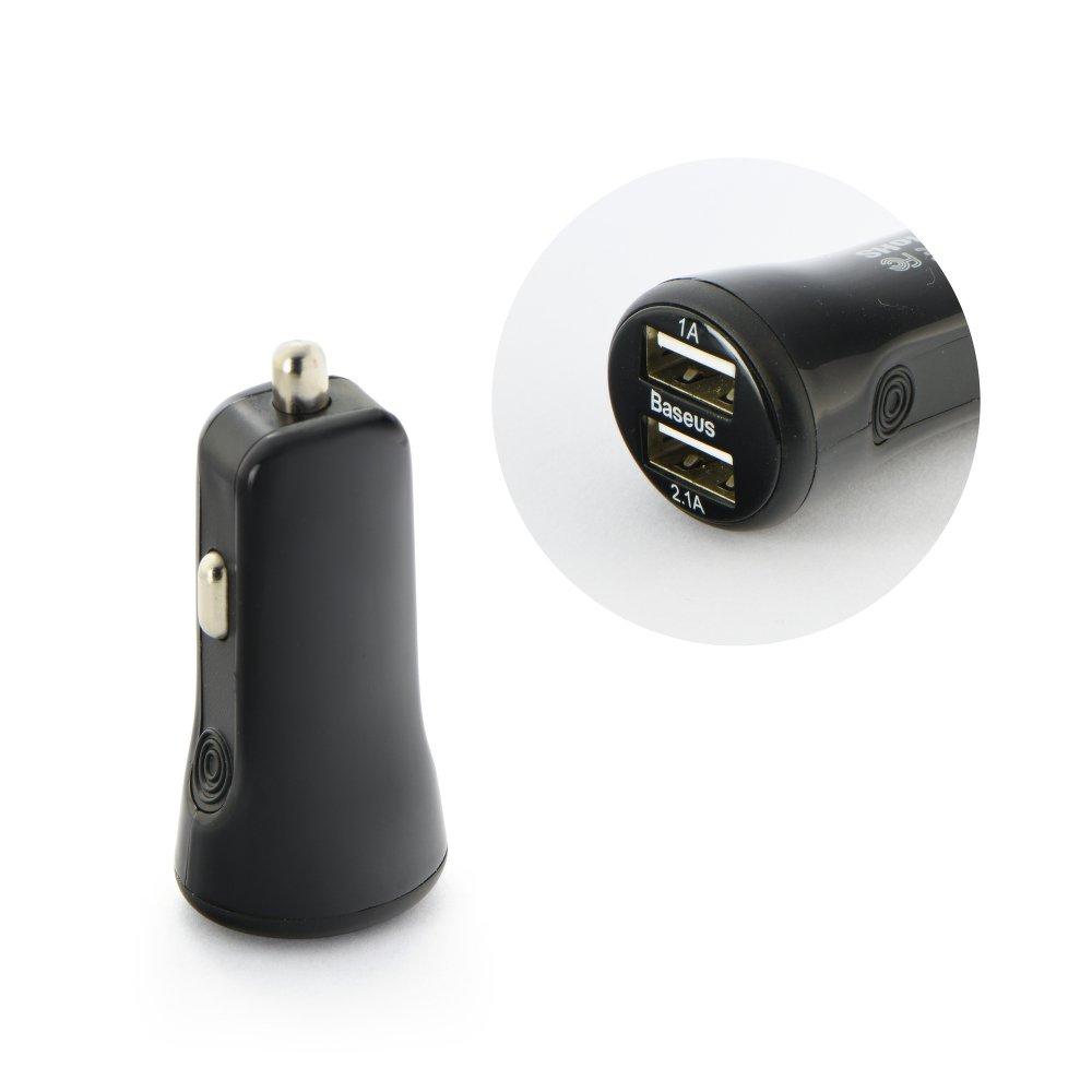 Auto USB nabíječka Baseus Tiny-Color 2xUSB - 2.1A+1A