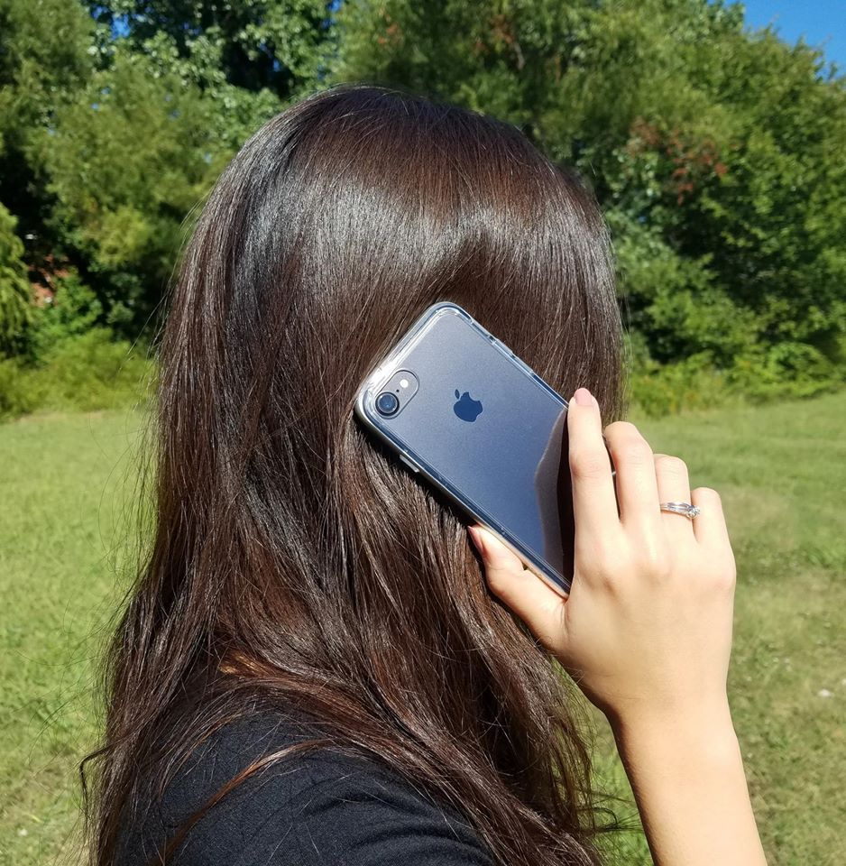 Průhledný čirý obal / kryt Ultra Slim Hybrid na iPhone 8 Plus