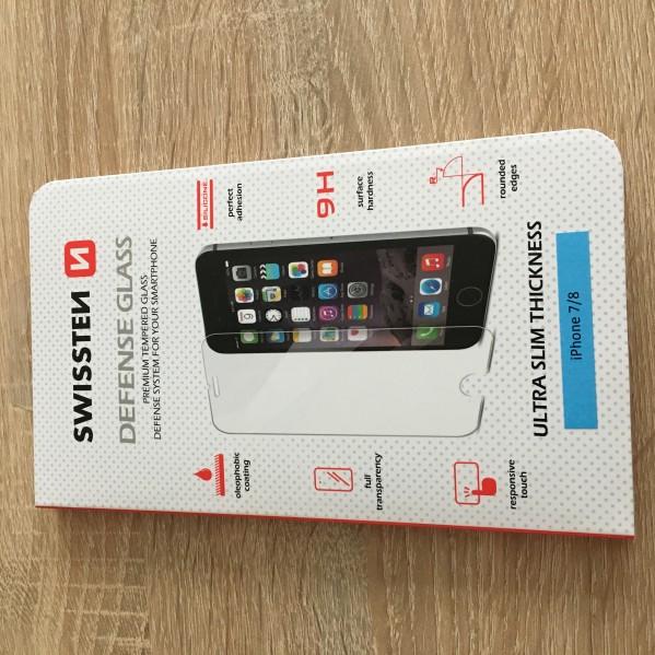 Tvrzené sklo přední + zadní Swissten Defense Glass Apple iPhone 8 / 7