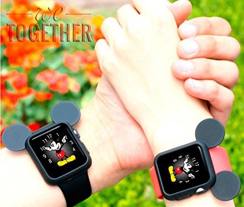 Silikonový obal Cartoon Mickey Apple Watch 42mm / 38mm Series 1, 2, 3