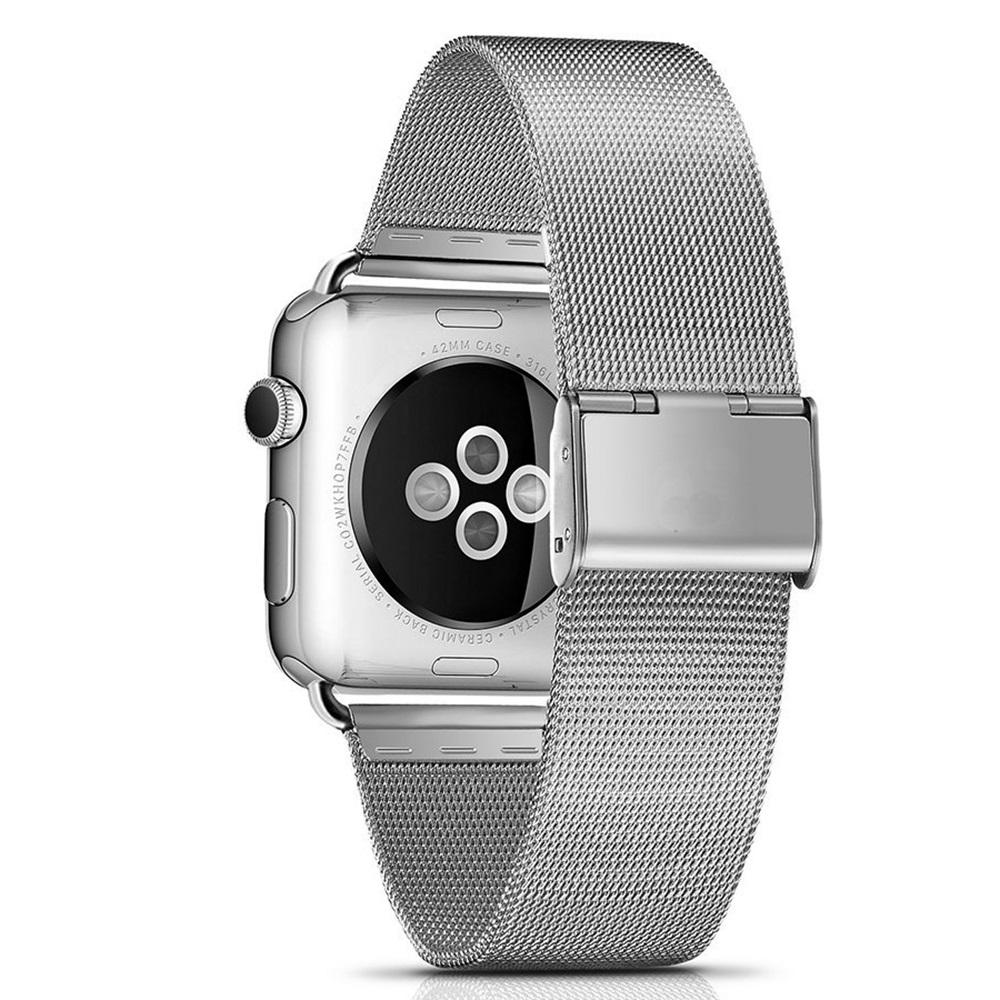 Ocelový řemínek MILANESE CLASSIC pro Apple Watch Series 4 (40mm)