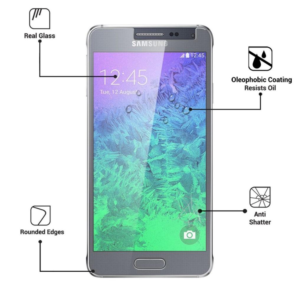 Ochranné tvrzené sklo pro Samsung Galaxy Alpha