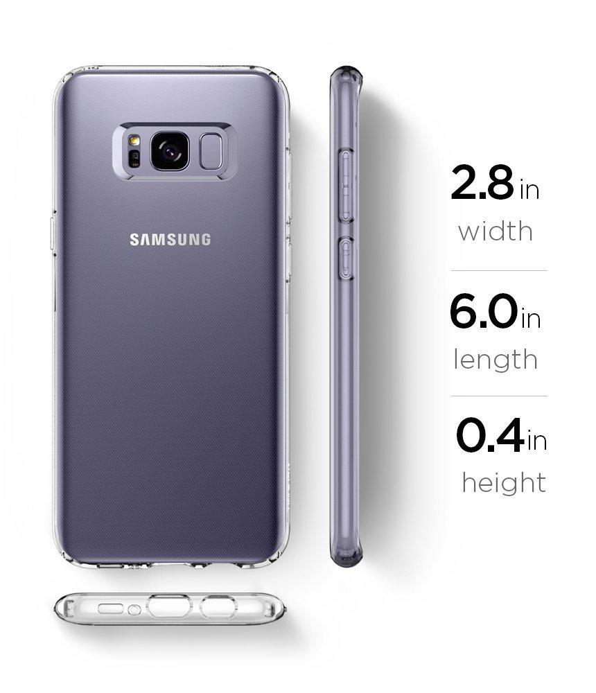 Silikonový obal / kryt Goospery Mercury pro Samsung Galaxy S8 Plus (S8+), čirý