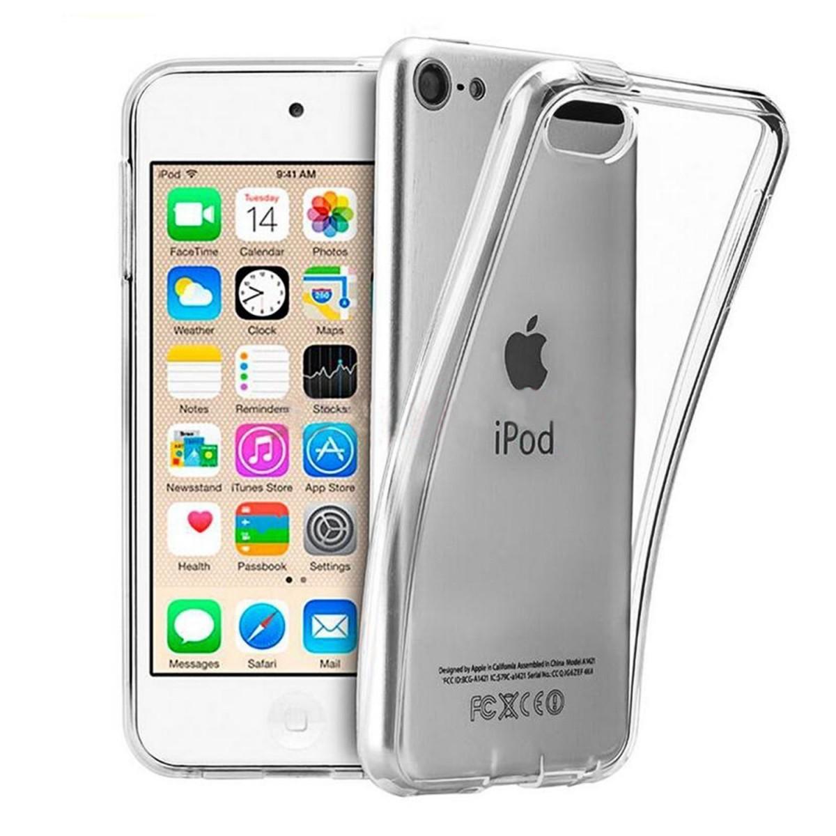 Tenký silikonový kryt na Apple iPod Touch 6. generace, čirý