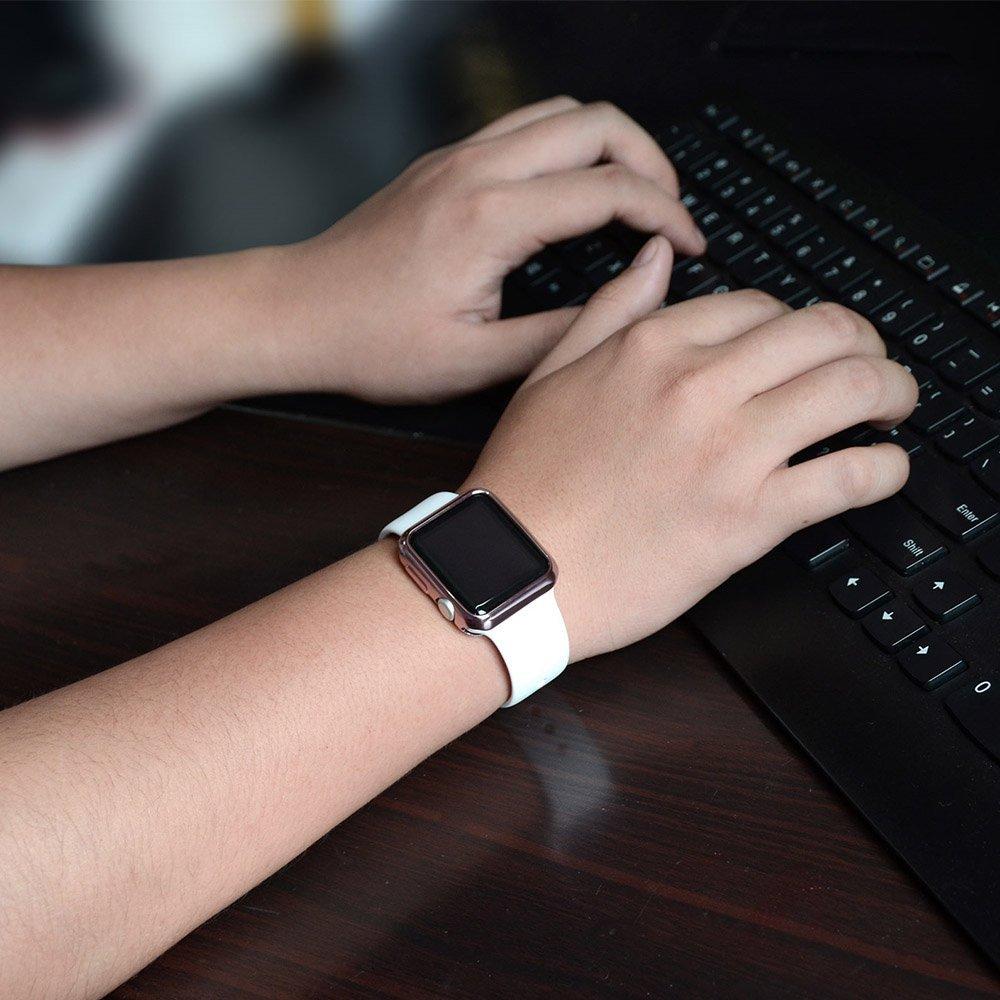 Silikonový kryt RING na Apple Watch 42mm / 38mmSeries 1, 2, 3
