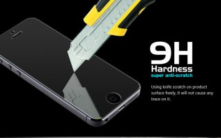 Tvrzené sklo X-ONE Glass Panels 9H Apple iPhone SE / 5S / 5C / 5