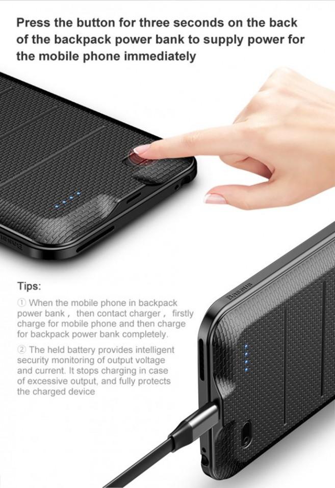 Baseus Ample Backpack 2500mAh pro Apple iPhone 8 / 7