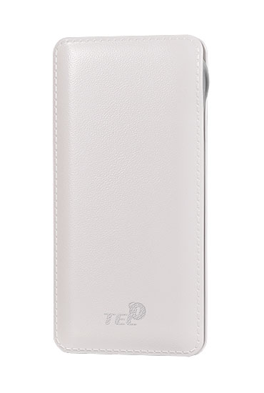 Externí baterie / Power Banka TEL1 Slim 12 000mAh, 2x USB, LED