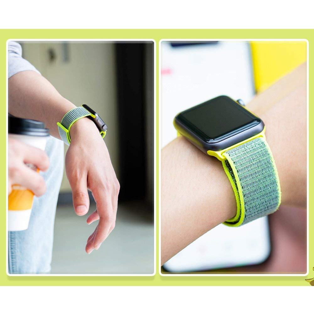 Nylonový řemínek NYLON pro Apple Watch Series 3/2/1 (38mm)