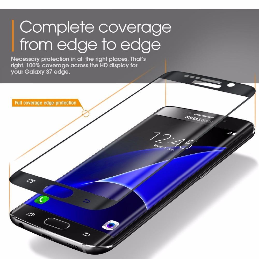 3D Tvrzené sklo 9H na celý displej pro Galaxy S6 Edge Plus