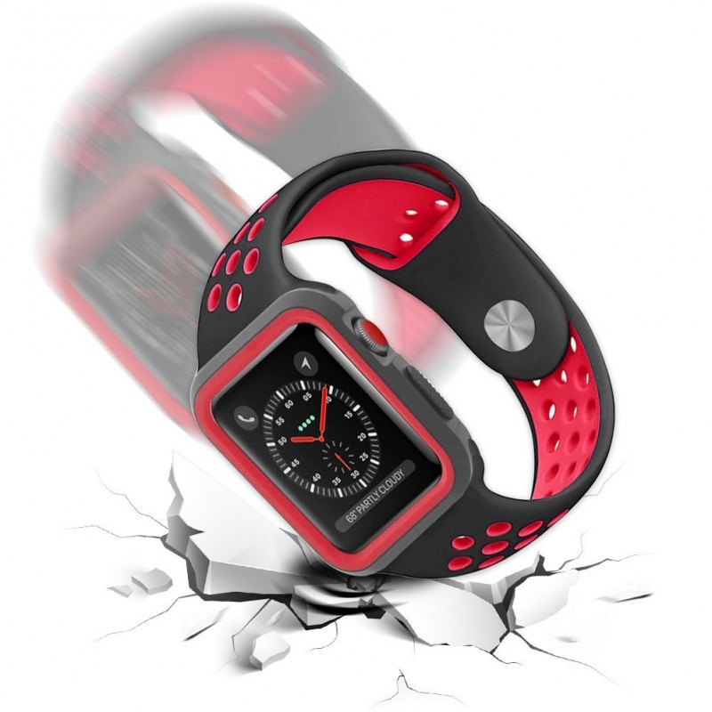 Silikonové pouzdro SPORT na Apple Watch Series 3/2/1 (38mm)