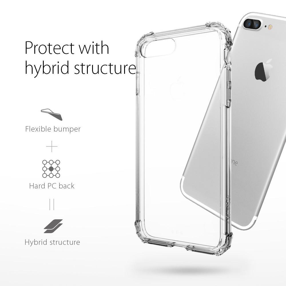 Pouzdro SPIGEN Crystal Shell pro Apple iPhone 8 Plus / 7 Plus