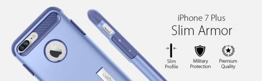 Ochranný kryt SPIGEN Slim Armor pro Apple iPhone 8 Plus / 7 Plus