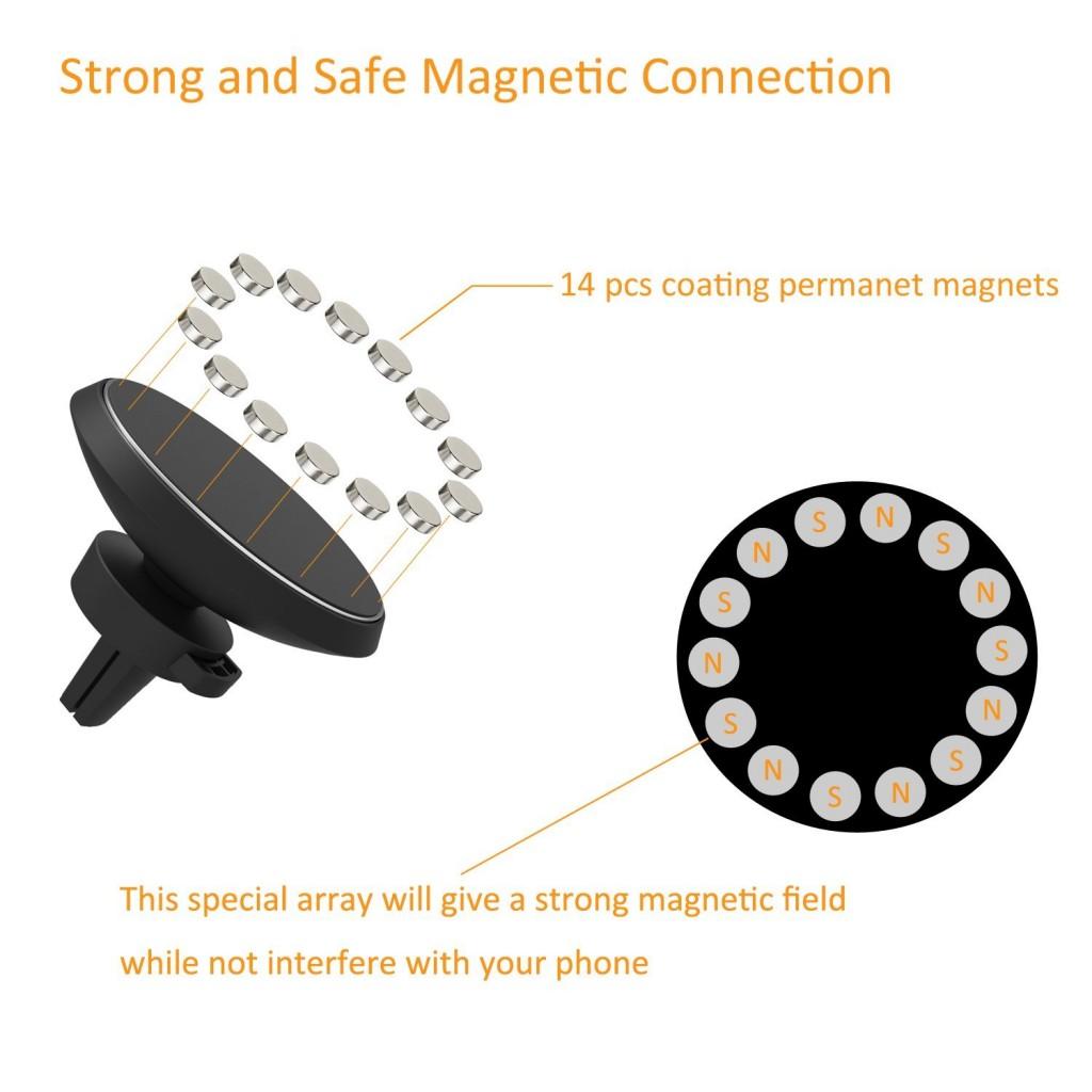Megnetický držák Qi Magnetic s bezdrátovým nabíjením