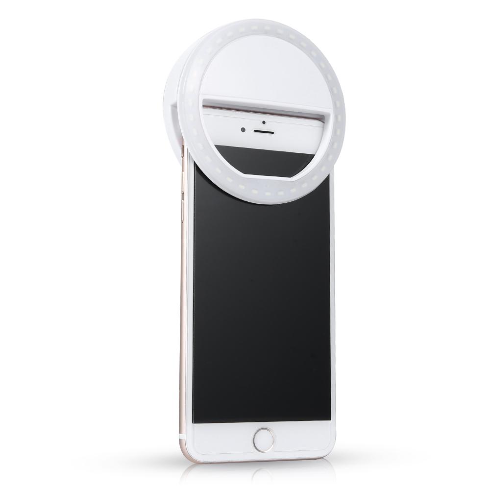 Selfie LED světlo (Selfie Ring Light) - 36 LED, nabíjecí