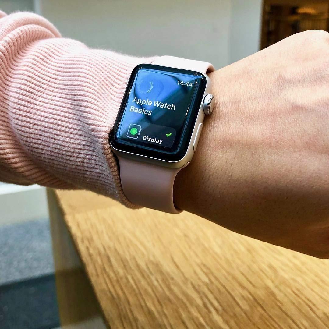 Silikonový řemínek SmoothBand pro Apple Watch 42mm Series 1/2/3