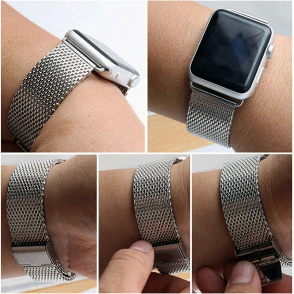 Řemínek Eastar Milanese pro Apple Watch 42mm / 38mm Series 1, 2, 3