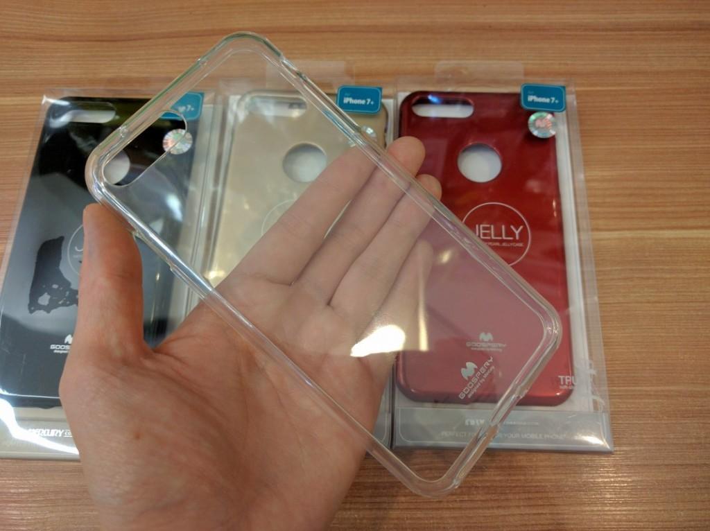 Silikonový obal / kryt Goospery Mercury pro Apple iPhone 4s / 4 (čirý)