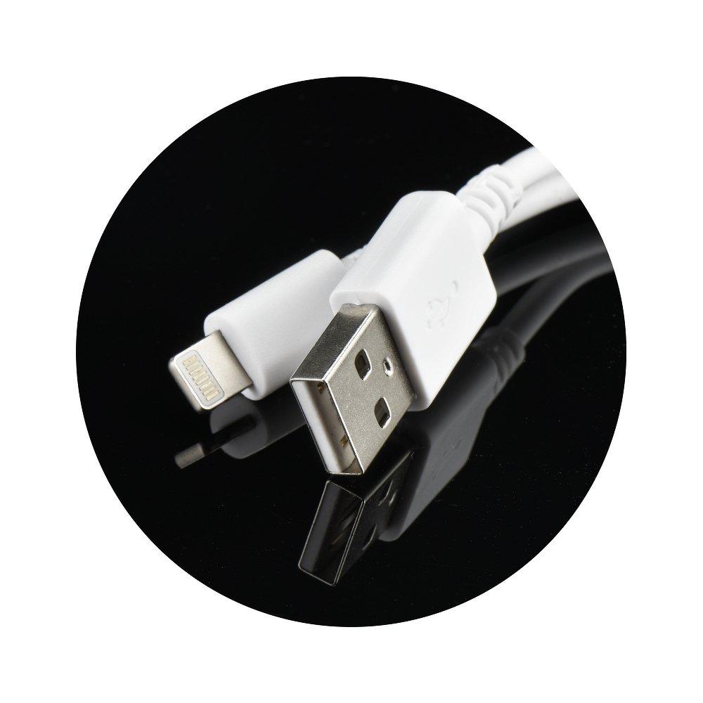Nabíjecí sada Forcell: Nabíječka + Lightning kabel pro Apple zařízení
