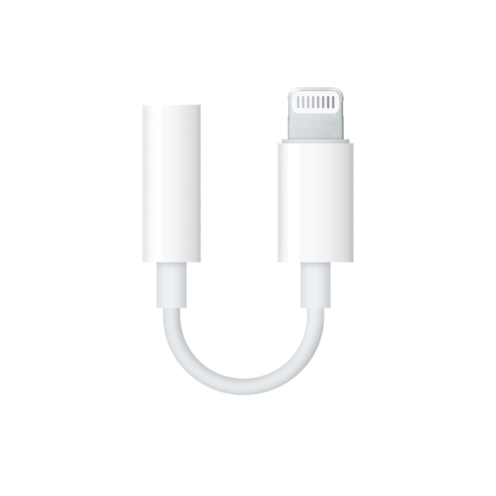 Apple MMX62ZM/A originalní redukce / kabel Lightning - Jack 3,5mm