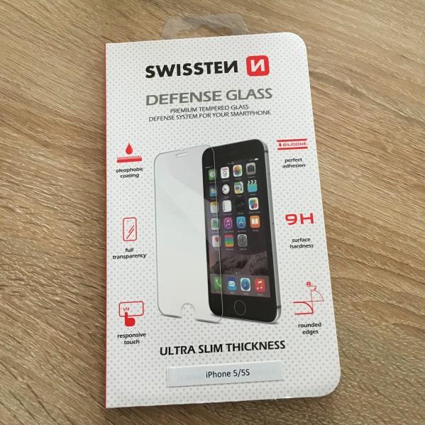 Ochranné temperované sklo SWISSTEN Defense Glass Apple iPhone 8 / 7